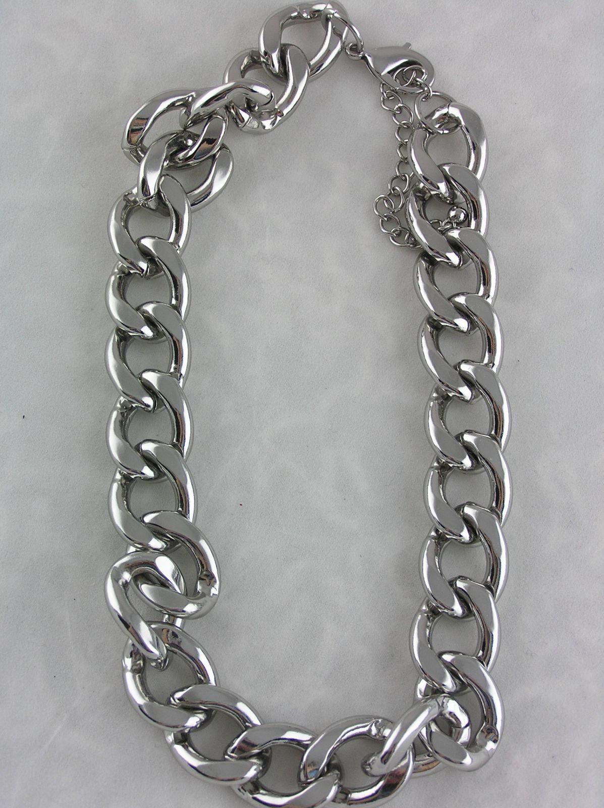 Stříbrný náhrdelník masivní řetěz GIIL