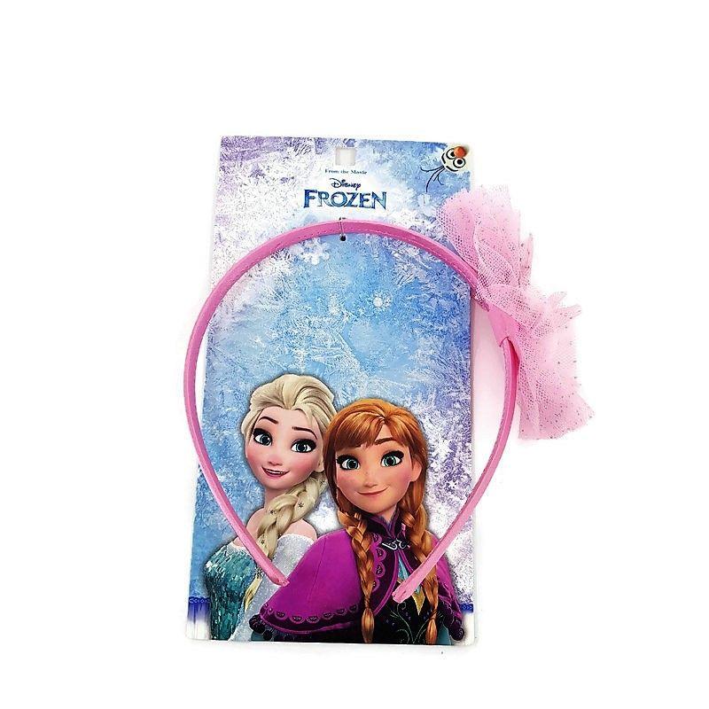 Frozen růžová čelenka s Elsou a Annou GIIL