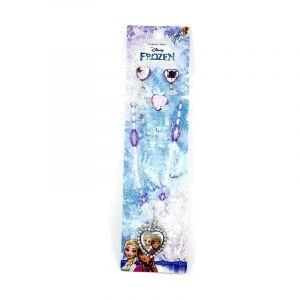 Frozen set náhrdelník, prstýnek a náušničky klip GIIL