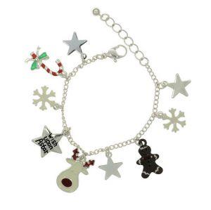Náramek se symboly Vánoc
