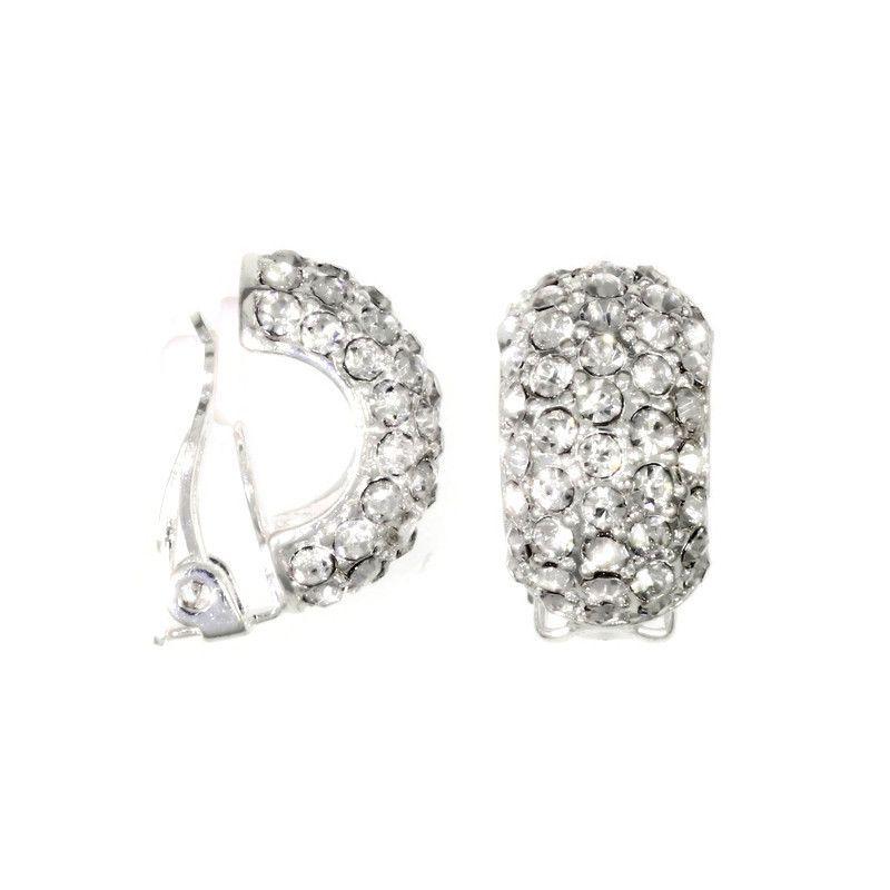 Luxusní kamínkové klipsy