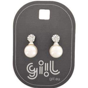 Náušnice s perličkou 361109a