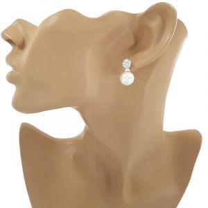 Náušnice s perličkou 361109b