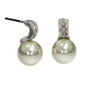 Náušnice s perličkou 444809