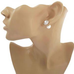 Náušnice s perličkou 484926b