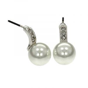 Náušnice s perličkou 743493