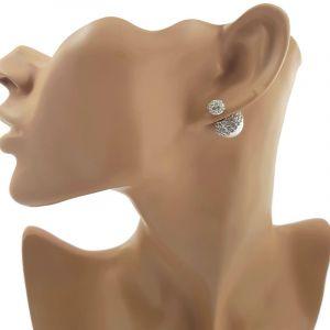 Náušnice s perlou 747093