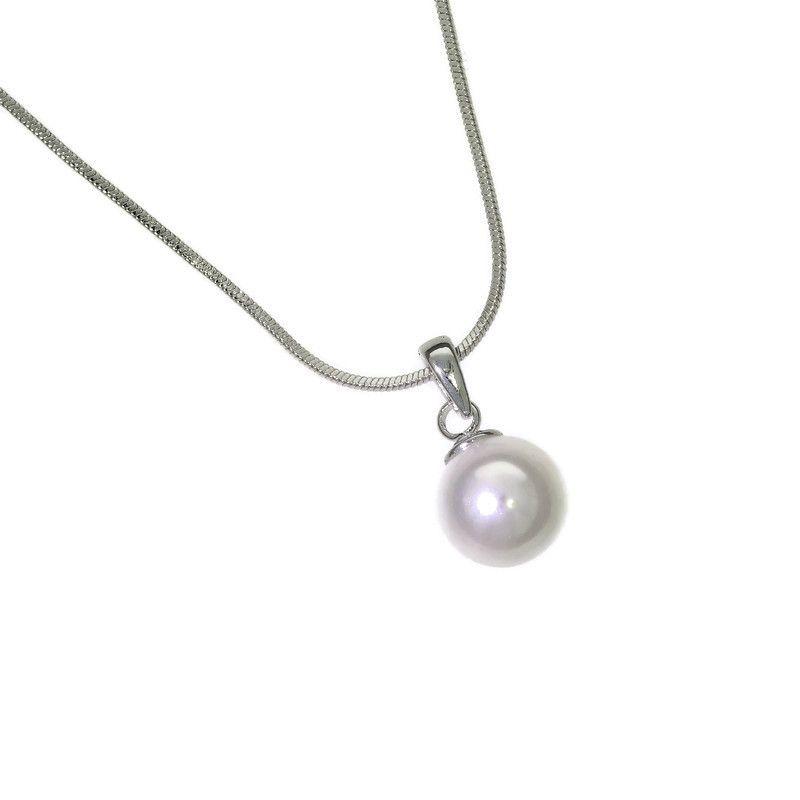 Řetízkový náhrdelník s perlou