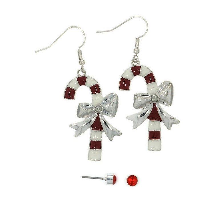 Sada vánočních hůlek a červených pecek GIIL
