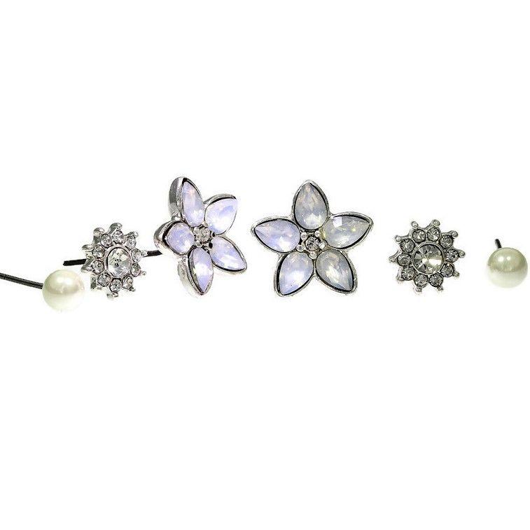 Set tří párů náušnic inspirované zimní krásou GIIL