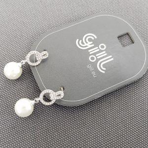 Visací náušnice s perličkou 776912b