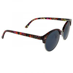 Kulaté brýle s barevným poloorámováním