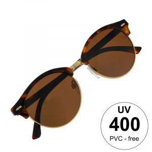 Brýle s polobroučky v želví barvě