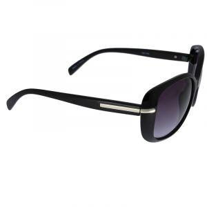 Černé brýle se stříbrným detailem