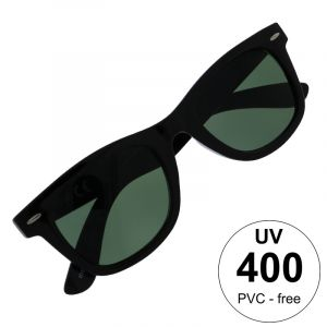 Brýle černé hranaté