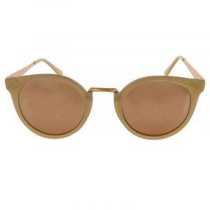 Růžové retro brýle se zlatým pokovením stránic GIIL