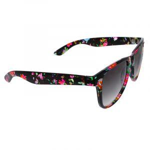 Květované brýle s černým podkladem