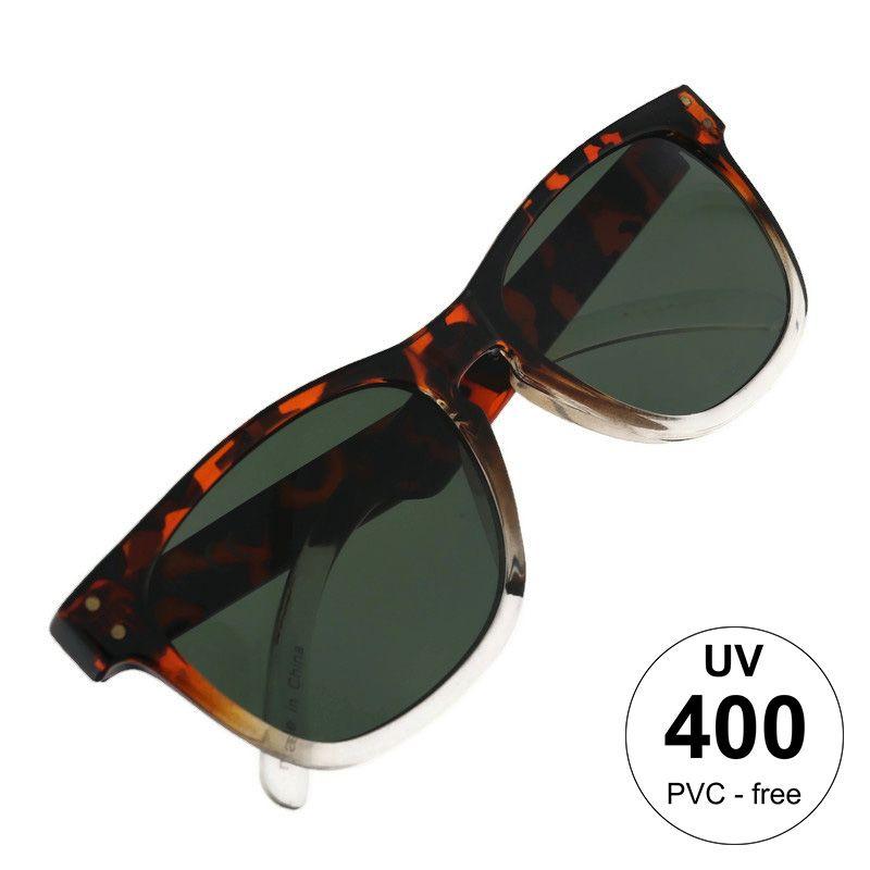 Hnědé tygrované brýle