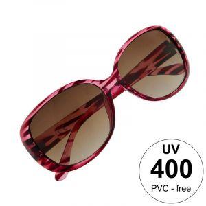 Růžově pruhované brýle