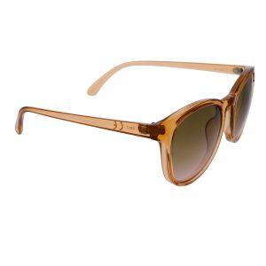 Retro brýle v transparentní světle hnědé barvě