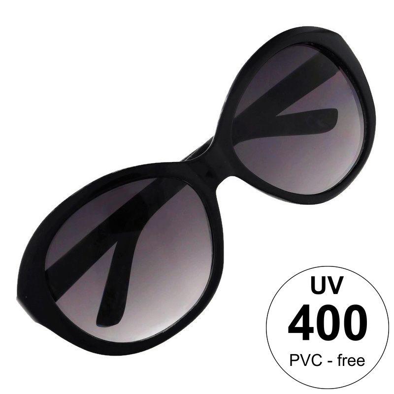 Černé brýle s mramorovým nádechem