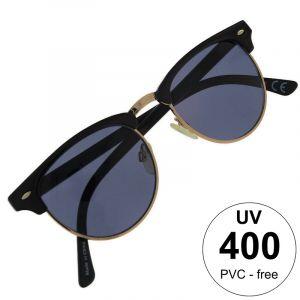 Kulaté brýle s modrými čočkami