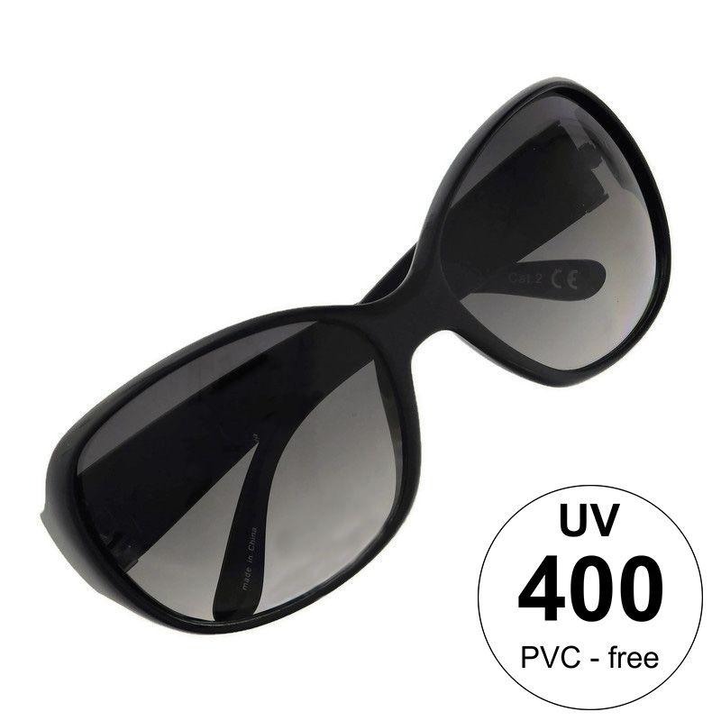Černé brýle Giil s rozšířenými stránicemi