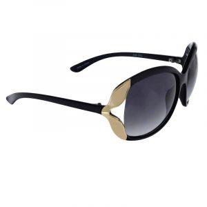 Černé brýle s detailem listu
