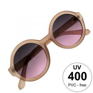 Kulaté retro fialové brýle