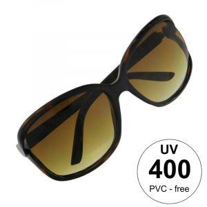 Tygrované brýle s nezvykle zakončenými skly