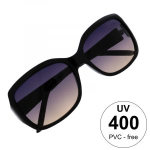 Retro černé maxi brýle