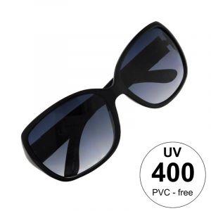 Černé brýle se stříbrným páskem