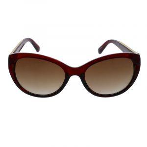 Hnědočervené kočičí brýle