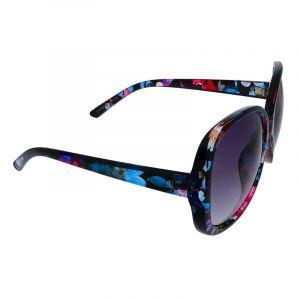 Květované retro brýle