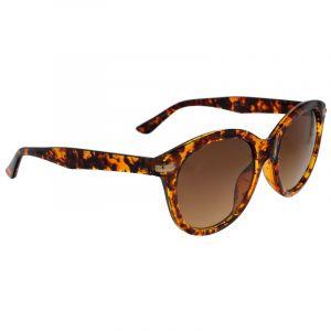 Hnědožluté žíhané brýle