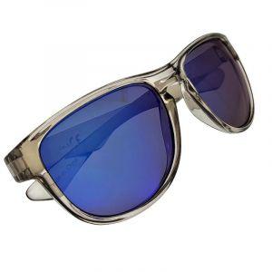 Transparentní sluneční brýle s modrými skly
