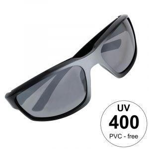 Černostříbrné sportovní brýle