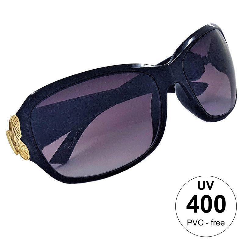 Dámské brýle s výrazným zlatým motýlkem GIIL
