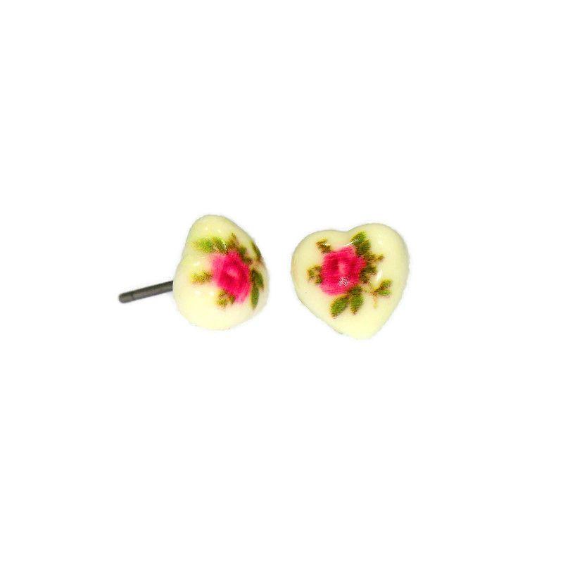 Mini růžova srdíčka