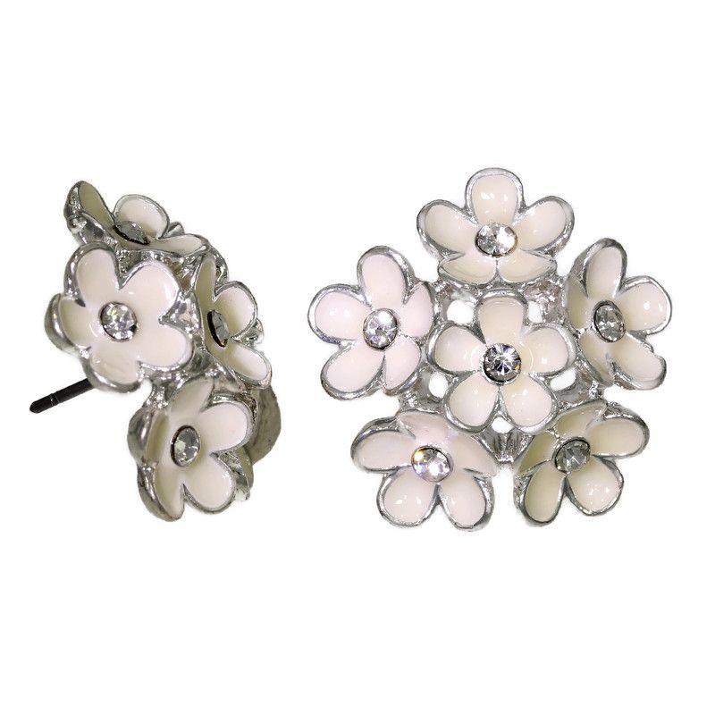 Náušnice květy