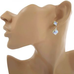 Náušnice pod ucho s krystaly1