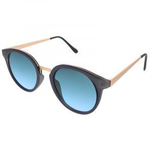 Černé brýle s pokovenými stránicemi
