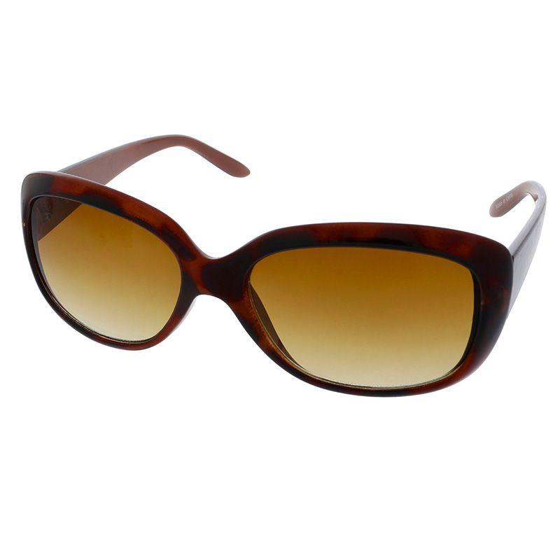 Strakaté hnědé brýle