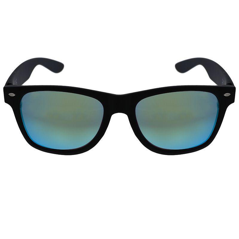 Černé hranaté brýle s modrými skly GIIL