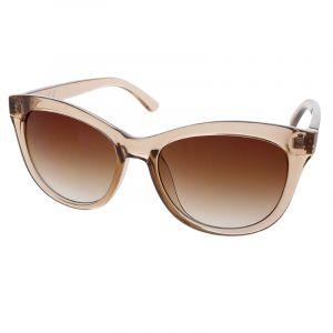 Světle hnědé transparentní brýle
