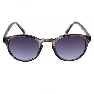 Šedé transparentní brýle s mramorovým detailem