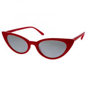 Červené kočičí brýle