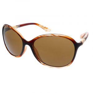 Hnědobílé nadrozměrné brýle