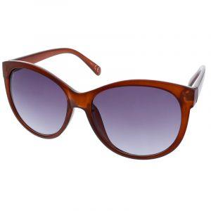 Brýle hnědé s modrými skly