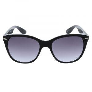 Černé hranaté sluneční brýle